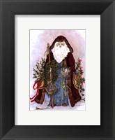 Framed Celestial Santa