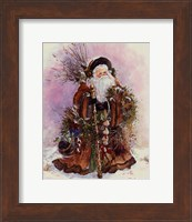 Framed Santa's Bounty