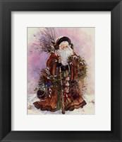 Santa's Bounty Framed Print