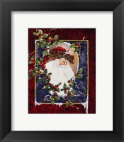 Framed Santa's Portrait