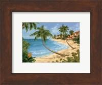 Framed Palm Beach Garden II