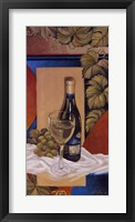 Framed White Wine