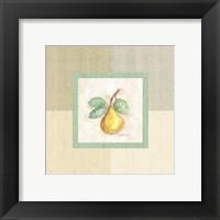 Framed Pear Inside