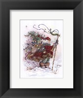 Windswept Traveler Framed Print