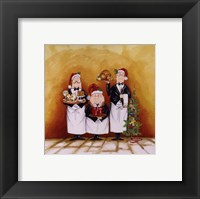 Framed Christmas Waiters