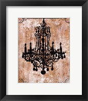 Framed Chandelier I