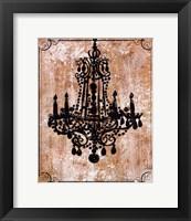 Chandelier I Framed Print