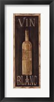 Vin Blanc Framed Print