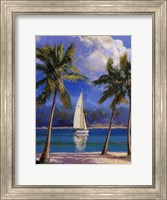 Framed Island Breeze
