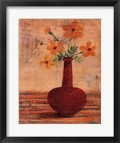 Framed Modern Vases IV