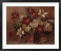 Framed Autumn Lilies