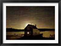 Framed Cottage Silhouette