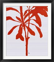 Framed Silhouette Of Palm 3