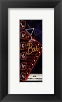 Lucky's Bar Framed Print