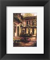 Spring Courtyard II Framed Print