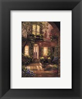 Framed Spring Courtyard I