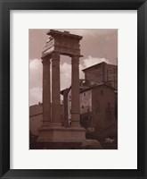 Ancient Building Framed Print