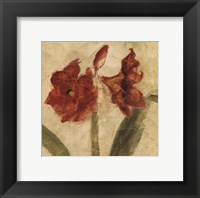 Framed Sienna Quartet I