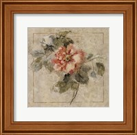 Framed Provence Rose II