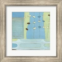 Framed Egg Hunt In Blue I
