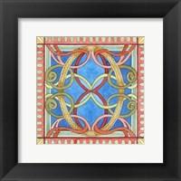 Framed Ornamental O