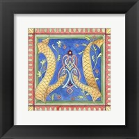 Framed Ornamental W