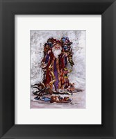 Christmas On Its Way Framed Print