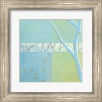 Framed Blue Arbor I