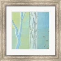 Framed Blue Arbor II