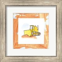 Framed Charlie's Bulldozer