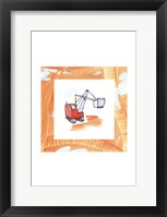Framed Charlie's Steamshovel
