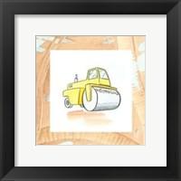 Charlie's Steamroller Framed Print