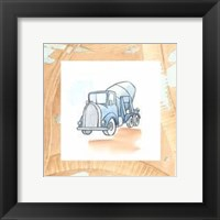 Charlie's Cement Mixer Framed Print