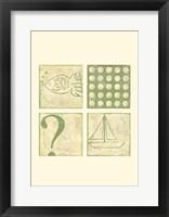 Fish Tale Framed Print