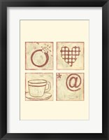 Love Connection Framed Print