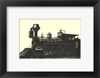 Locomotive I Framed Print