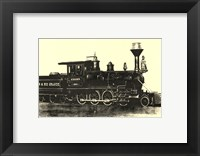 Locomotive III Framed Print