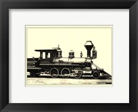 Locomotive VI Framed Print