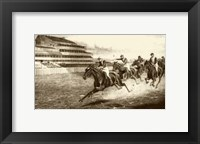 Framed Winning The Derby