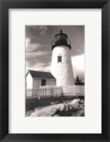 Framed Pemaquid Point Light, Maine I