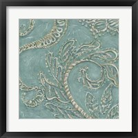 Tiffany Lace III Framed Print