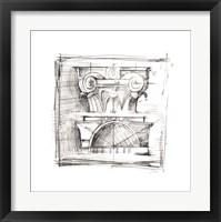 Drafting Elements IV Framed Print