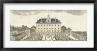 Framed Palace Garden