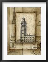 Framed Passport To Big Ben