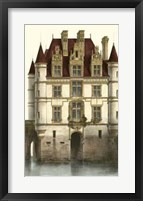 Framed French Chateaux In Brick I