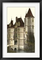 Framed French Chateaux In Brick II