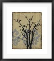 Branch In Silhouette II Framed Print