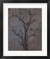 Framed Branch In Silhouette IV