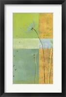 Blue Seedlings II Framed Print