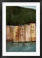 Framed Coastal Villa II